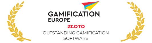 Złota nagroda Gamification Europe