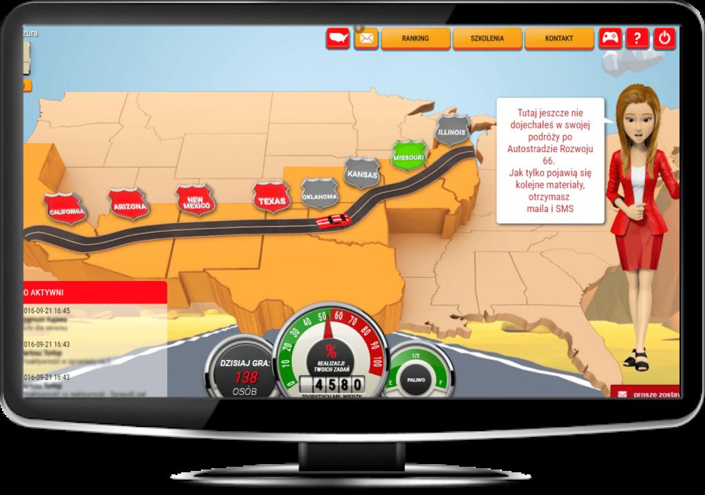 Inter Cars Drive Grywalizacja wiedzy o produktach i sprzedaży
